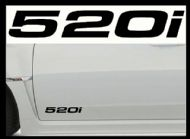 BMW 520i CAR BODY DECALS